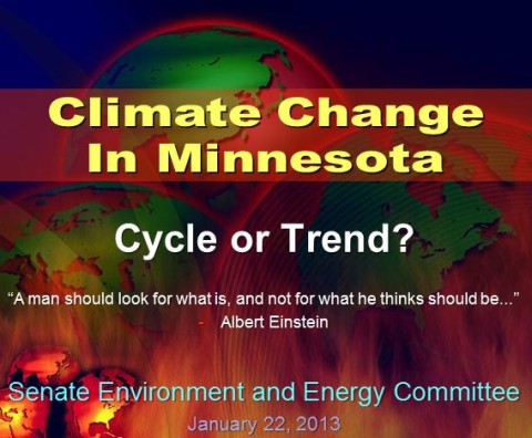 """Climate Change: Natural Cycle or Troubling Trend?"""