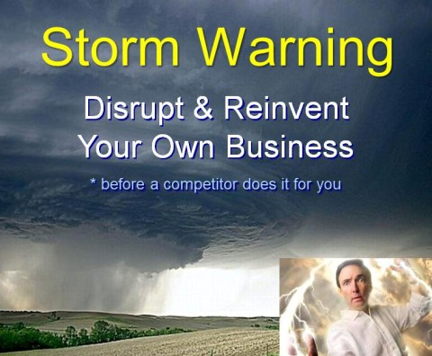 """Gales of Disruption. Storm-Proof your Company – and Your Life"""